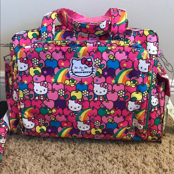 733a85456 JuJu Bags | Nwt Be Be Prepared Hello Kitty Daiper Bag | Poshmark